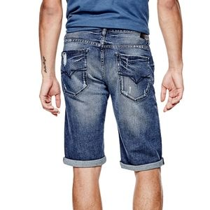 NWT GUESS Regular Fit Denim Shorts SZ 30
